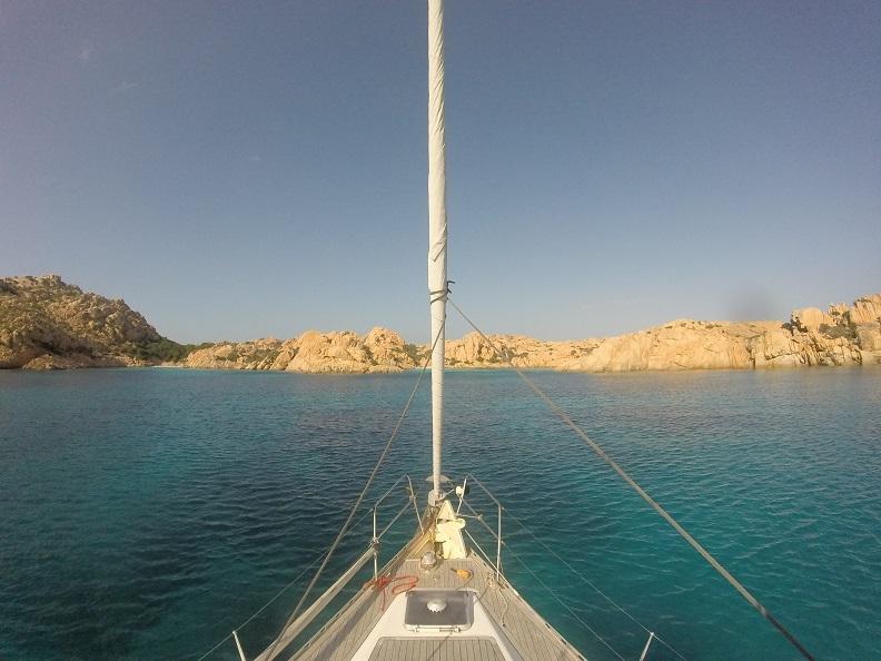 croisiere avec skipper et hotesse en Corse